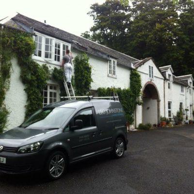 Van & Ladder