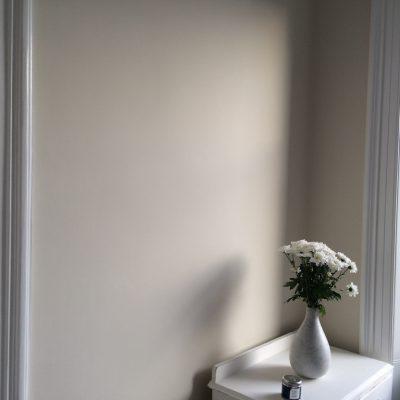 Hallway with vase